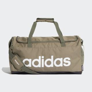 Linear Duffel Bag Legacy Green / Black / White FS6504