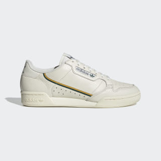 Tênis Continental 80 off white/active gold/collegiate green EG2714
