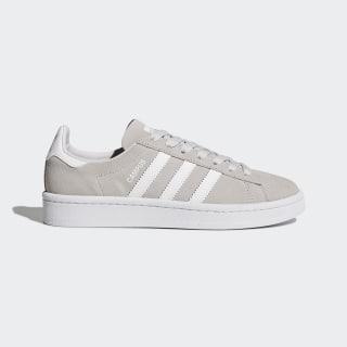 Scarpe Campus Grey One/Footwear White/Footwear White BY9576