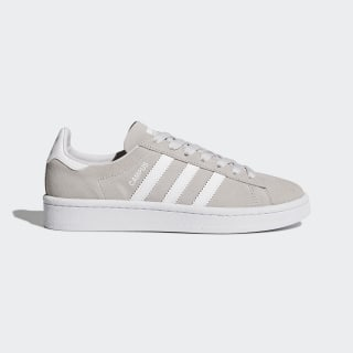 Zapatilla Campus Grey One/Footwear White/Footwear White BY9576