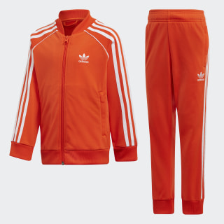SST Track Suit Active Orange / White DV2855