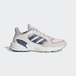 Zapatillas 90s Valasion Running White / Tech Ink / Real Pink EE9907