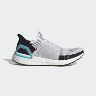 Ultraboost 19 Shoes Cloud White / Cloud White / Collegiate Royal G54012