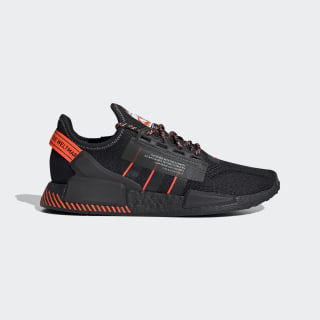 NMD_R1 V2 Shoes Core Black / Core Black / Solar Red FW6409