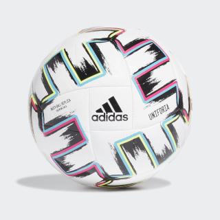 Uniforia Sala Training Ball White / Black / Signal Green / Bright Cyan FH7349