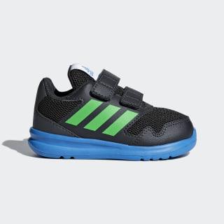 Tenis AltaRun Carbon / Vivid Green / Bright Blue AH2411