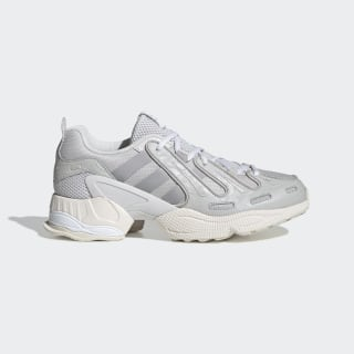 EQT Gazelle Shoes Grey One / Silver Metallic / Chalk White EE7771