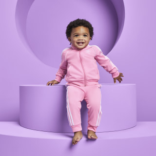 SST Track Suit Set Light Pink / White DV2823