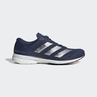 Adizero Adios 5 Shoes Tech Indigo / Silver Metallic / Core Black EH3127