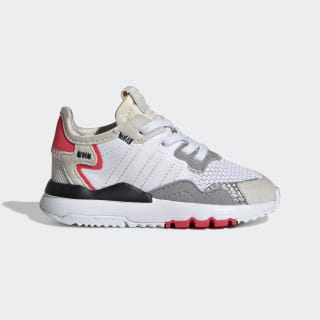 Tenis Nite Jogger Ftwr White / Crystal White / Shock Red DB2813