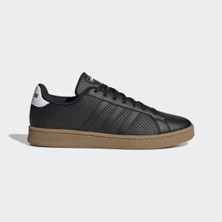 Zapatillas Grand Court Core Black / Core Black / Cloud White EE7885