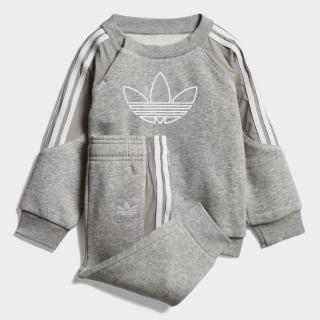 Radkin Sweatshirt-Set Medium Grey Heather / White DV2835