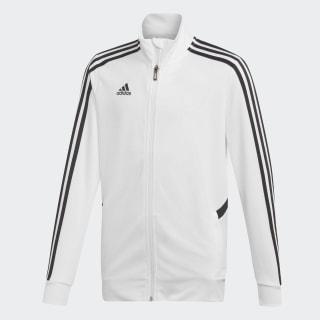 Tepláková bunda Tiro White / Black DY0107