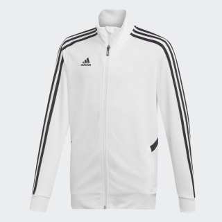 Tiro Trainingsjacke White / Black DY0107