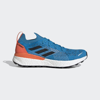 TERREX Two Ultra Parley Trailrunning-Schuh Sharp Blue / Core Black / True Orange EF2134