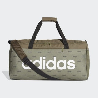 Linear Duffel Bag Raw Khaki / Black / White ED0294