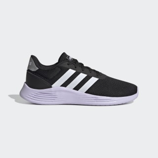 Zapatillas Lite Racer 2.0 Core Black / Cloud White / Purple Tint EG6907