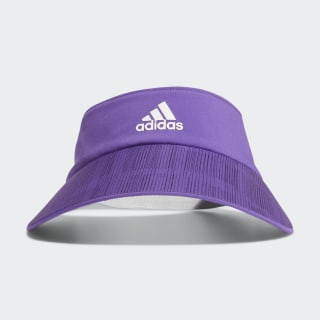 Wide-Brim Sport Visor Active Purple DY9207