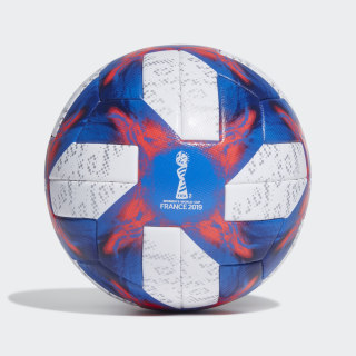 Tricolore 19 Offizieller Spielball White / Football Blue / Solar Red / Silver Met. FP9210