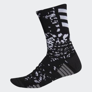 Creator 365 Crew Socks Black / White / White EK4760