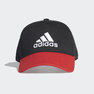 Graphic Cap Black / Vivid Red / White FN1002