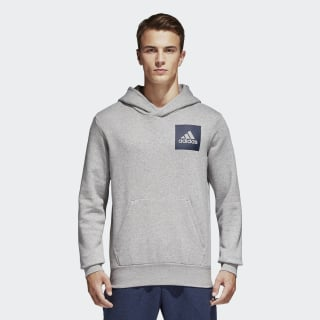Essentials Logo Hoodie Medium Grey Heather B45729