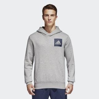 Sudadera con Gorro Essentials Logo Medium Grey Heather B45729