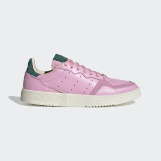 Supercourt Shoes True Pink / True Pink / Collegiate Green EF9220