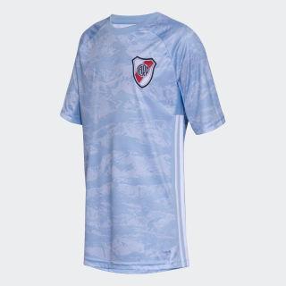 Camiseta de Arquero River Plate Clear Blue / White DX5938