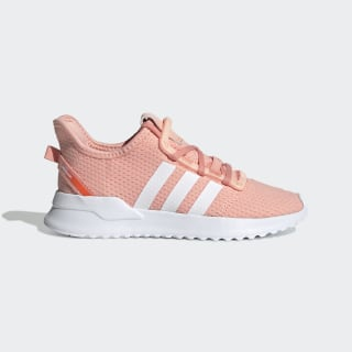U_Path Run Shoes Glow Pink / Cloud White / Hi-Res Coral EE7435