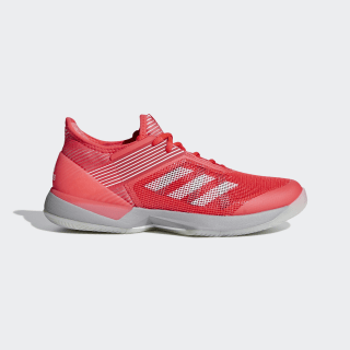 Adizero Ubersonic 3.0 Shoes Shock Red / Cloud White / Light Granite CG6442
