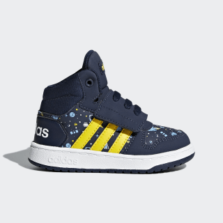 Hoops 2.0 Mid Shoes Collegiate Navy / Eqt Yellow / Ash Blue DB1938