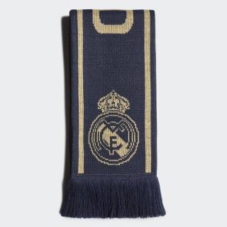 Real Madrid tørklæde Night Indigo / Matte Gold / Black DY7707