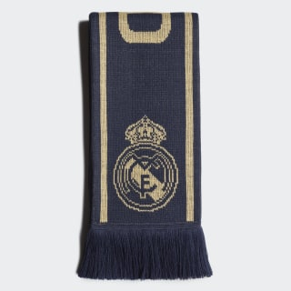Šála Real Madrid Night Indigo / Matte Gold / Black DY7707