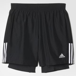Shorts con Malla 2 en 1 Ozweego BLACK/WHITE AO3700