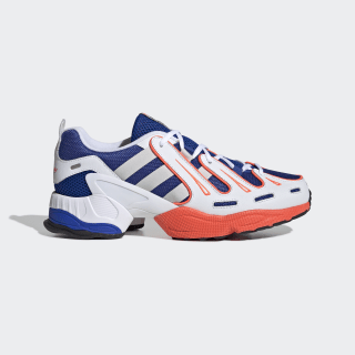 EQT Gazelle Shoes Power Blue / Grey One / Solar Red EG2889