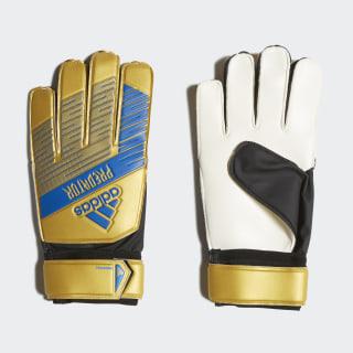 Predator Training Gloves Gold Metallic / Football Blue DY2613