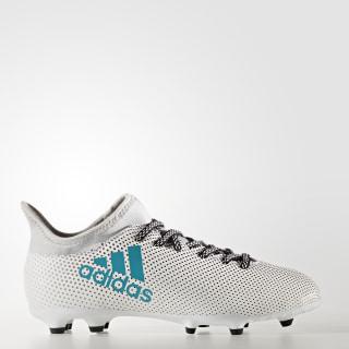 Calzado de Fútbol X 17.3 Terreno Firme Cloud White / Energy Blue / Clear Grey S82367
