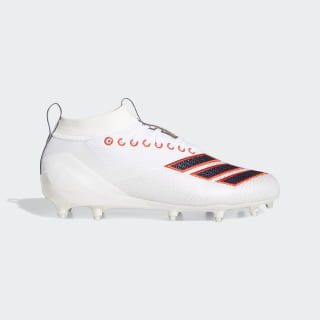 Adizero 8.0 Cleats Cloud White / Cloud White / Active Red EF1553