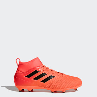 ACE 17.3 Firm Ground Boots Solar Orange/Core Black/Solar Red BY2193