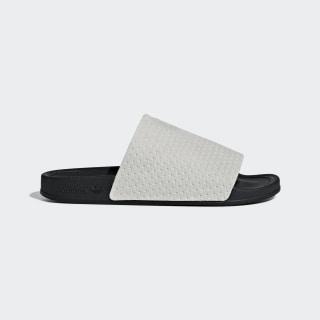 Chancla Adilette Luxe Grey Two / Core Black / Gold Met. DA8930