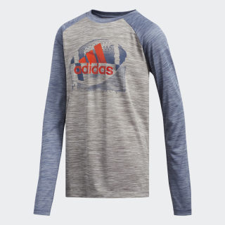 Raglan Sport Ball Tee Grey CM4311