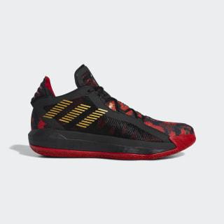 Dame 6 Forbidden City Shoes Core Black / Gold Metallic / Scarlet FW5445