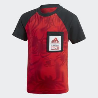 Camiseta Marvel Hombre Araña Active Red / Black / White DV0832