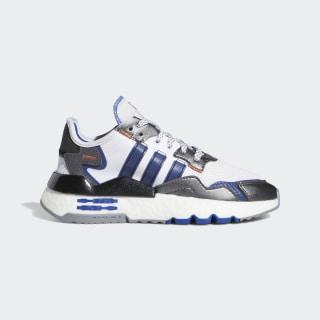 Nite Jogger Star Wars R2-D2 Shoes Cloud White / Collegiate Royal / Core Black FV8041