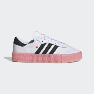 SAMBAROSE Shoes Cloud White / Core Black / Glory Pink EF4965