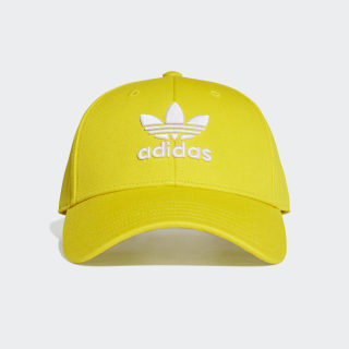 Trefoil Baseball Cap Yellow / White ED9387