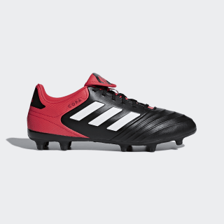 Copa 18.3 Firm Ground Cleats Core Black / Cloud White / Real Coral CP8957