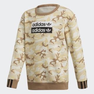 R.Y.V. Camouflage Crew Sweatshirt Multicolor / Cardboard ED7887