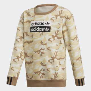 Sweat-shirt R.Y.V. Camouflage Crew Multicolor / Cardboard ED7887